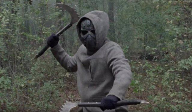 Imagen del final de la temporada 10 de The Walking Dead