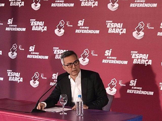 Fútbol.- Víctor Font abre la posibilidad a la continuidad de Koeman en el proyec