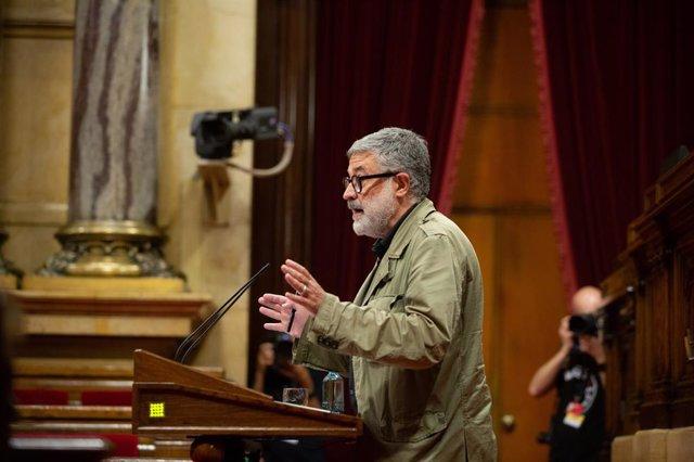 El diputat de la CUP en el Parlament Carles Riera.