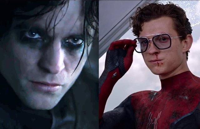 Robert Pattinson es Batman y Tom Holland es Spider-Man