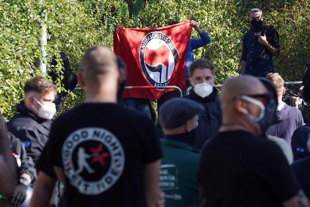 Alemania.- Las manifestaciones en la conmemoración de la reunificación alemana s