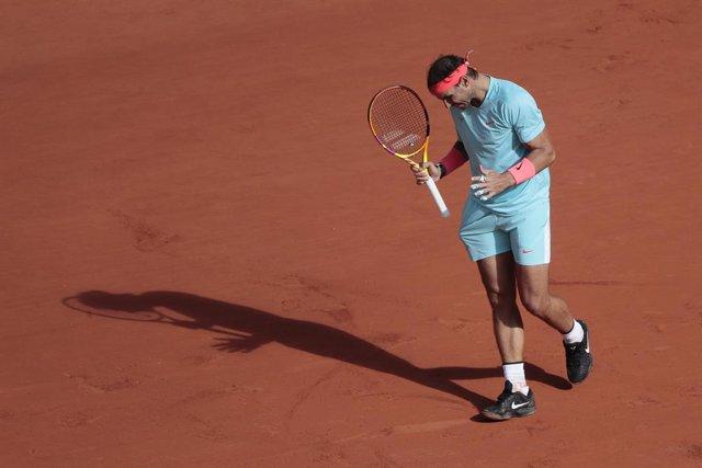 """Tenis/Roland Garros.- Rafa Nadal: """"No imaginaba una primera semana tan buena de"""