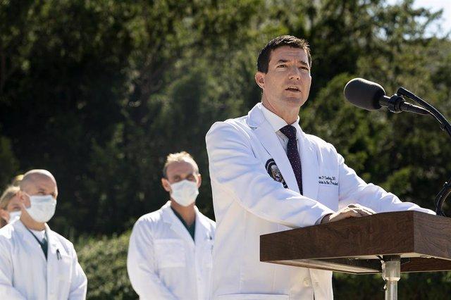 Sean Conley, médico del presidente estadounidense, Donald Trump