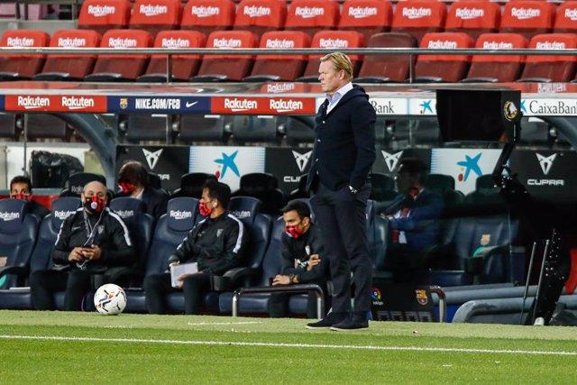 """Fútbol.- Ronald Koeman: """"Ha sido un partido bastante igualado y el resultado es"""