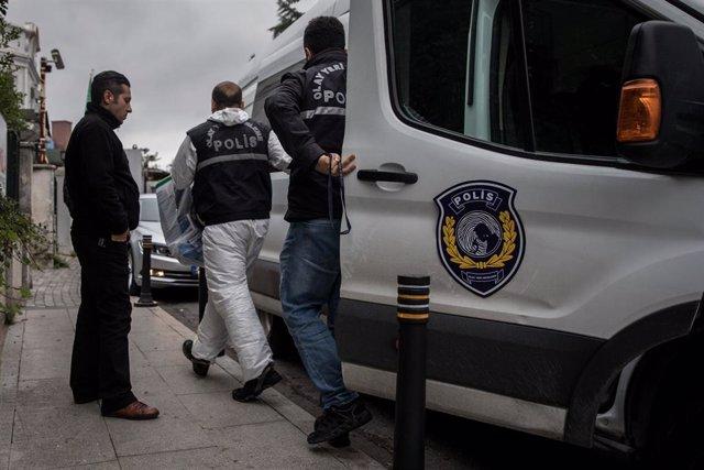 Turquía.- Detienen en Turquía a 25 personas presuntamente vinculadas a Estado Is