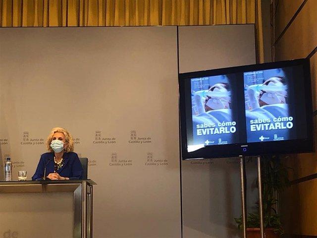 """CVirus.- Junta de Castilla y León pide """"minorar el intercambio social"""" pese a una reducción en el ritmo de contagios"""