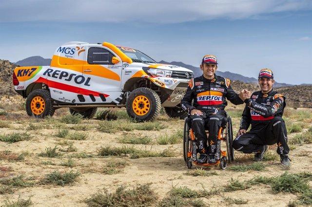 Rally.- Isidre Esteve debuta con el Toyota del Dakar en el Andalucía Rally