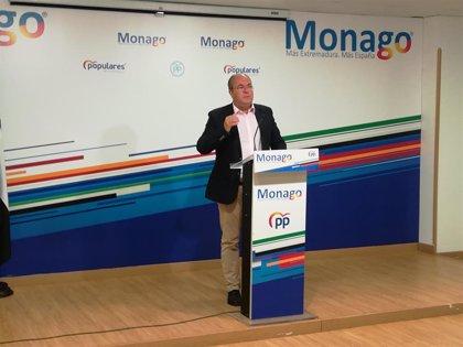 """Monago se ofrece a reunirse con Vara para ayudar a """"resucitar"""" la Atención Primaria invirtiendo """"lo que haga falta"""""""