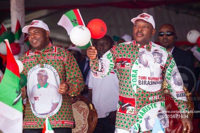 Burundi.- Detenido un exparlamentario opositor de Burundi por sus críticas al fa