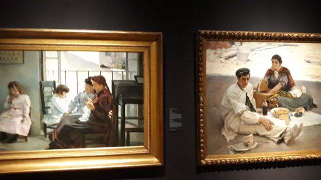 Imagen de la exposición 'Las invitadas' en el Museo del Prado