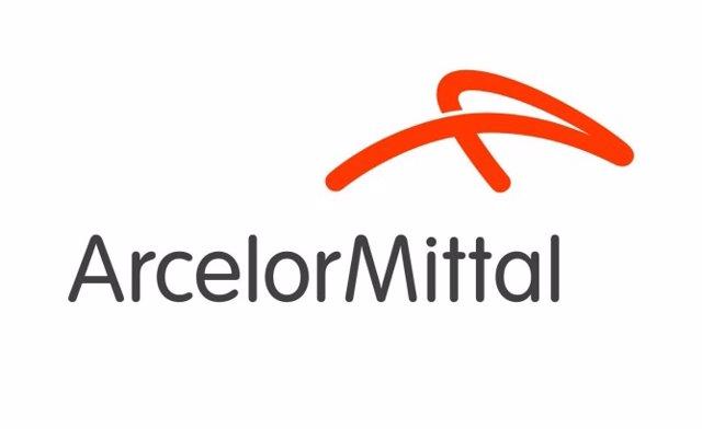 Logo de la siderúrgica ArcelorMittal.