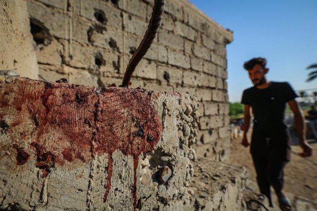 Irak.- Impactan dos proyectiles en los alrededores del aeropuerto de Bagdad en u
