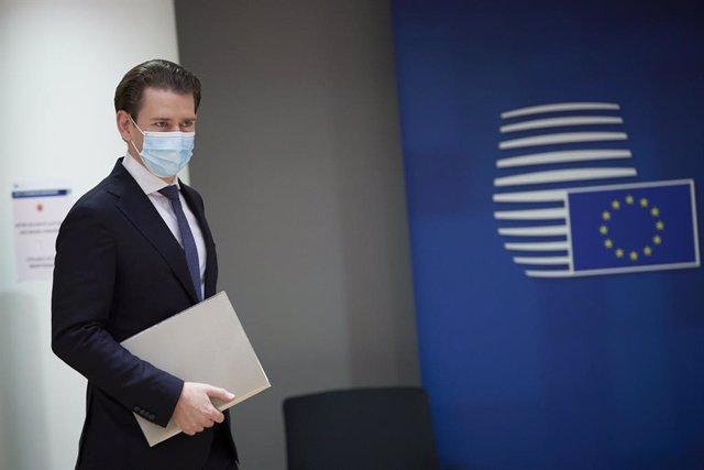 Coronavirus.- El canciller de Austria suspende todos sus eventos tras el positiv