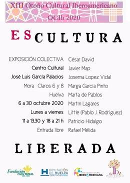 Huelva.- El OCIb 2020 reúne a nueve escultores a través de la exposición colecti