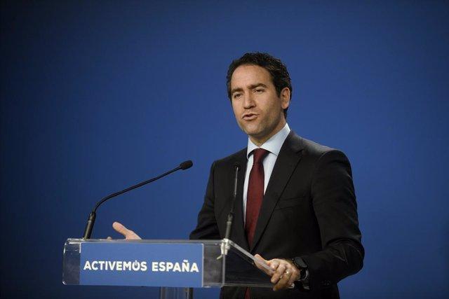 El secretari general del Partit Popular, Teodoro García Egea.