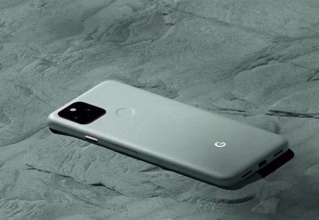 Google emplea una tecnología de altavoz bajo la pantalla en el Pixel 5