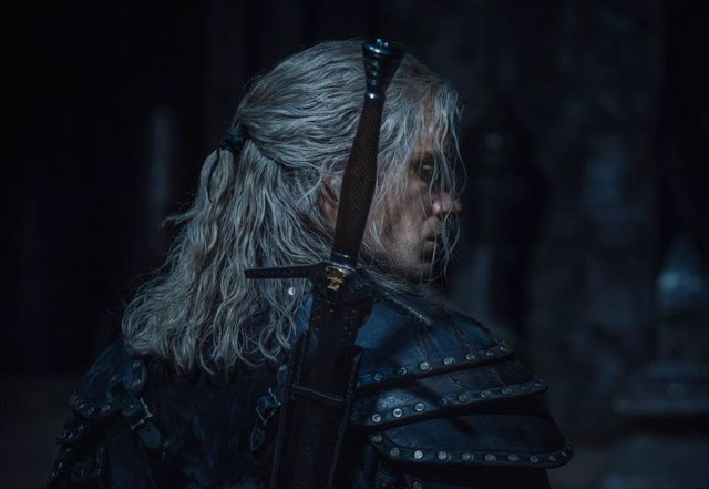 Henry Cavill en la temporada 2 de The Witcher