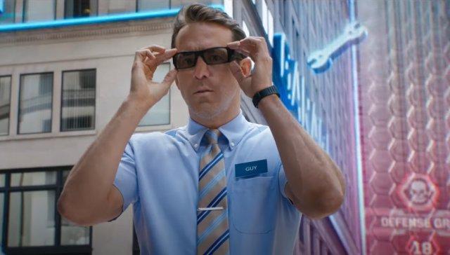Ryan Reynolds protagoniza el tráiler de Free Guy