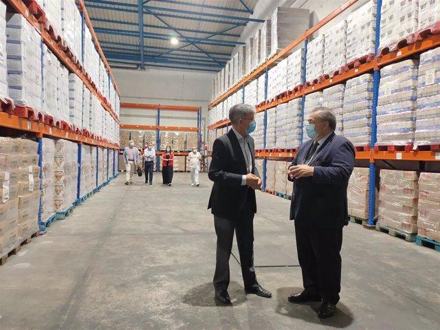 Málaga.- El Gobierno distribuye en Málaga 1,6 millones de kilos de alimentos a personas en riesgo de exclusión social