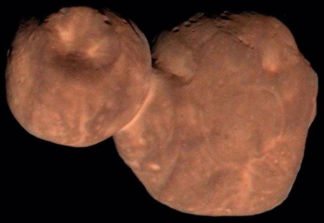 Explicación a la forma de Arrokoth, el muñeco de nieve transneptuniano