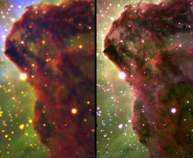 Anticipo desde la Tierra de la visión del telescopio espacial Webb