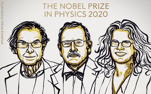 (AMP.) Nobel de Física para los exploradores de agujeros negros Penrose, Genzel