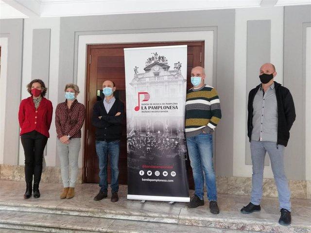 Presentación del regreso de La Pamplonesa al Teatro Gayarre