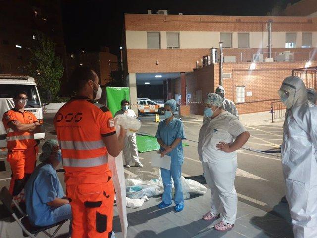 Trabajadores del Hospital reciben formación
