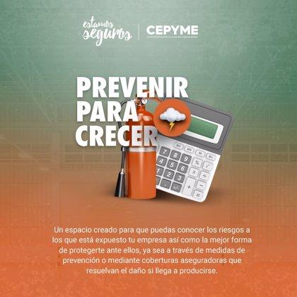 Cepyme y Unespa lanzan una web para fomentar la prevención de riesgos y facilitar su cobertura