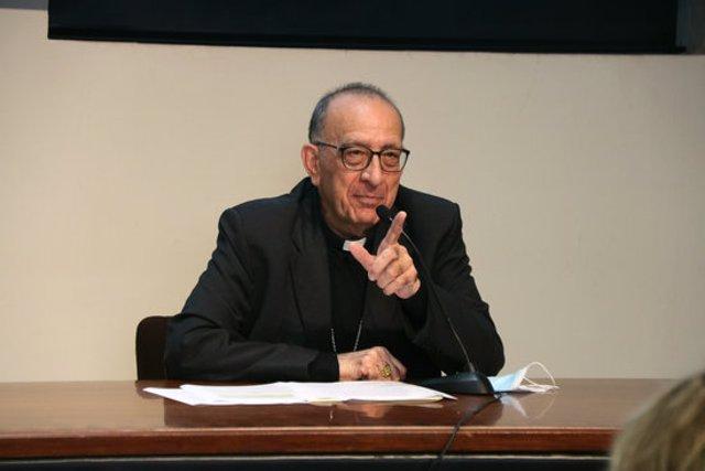 L'Arquebisbe de Barcelona, Joan Josep Omella, el 6 d'octubre del 2020. (Horitzontal)