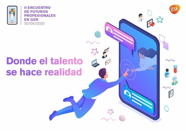 GSK España organiza el II Encuentro de Futuros Profesionales bajo el lema 'Donde el talento se hace realidad'