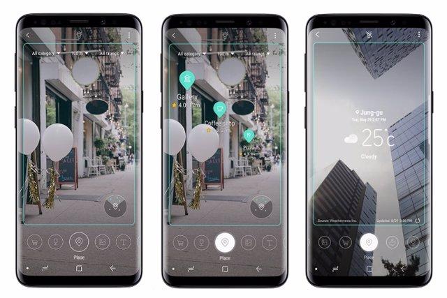 Samsung suprime las funciones de realidad aumentada de Bixby Vision