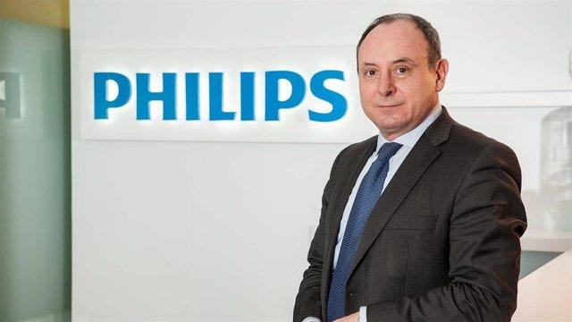 Director de Relaciones Institucionales de Philips Ibérica, Ignacio López Parrilla.