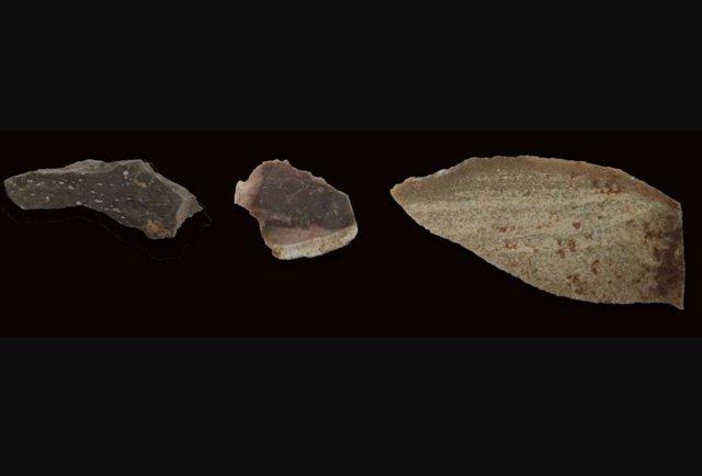 Uso de calor hace 300.000 años para tallar herramientas de piedra