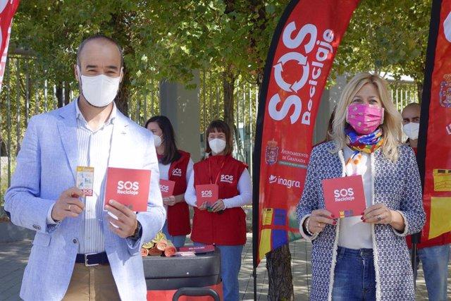 Presentación de la campaña municipal 'SOS reciclaje' en la zona norte