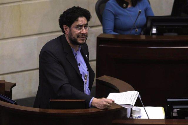 El senador Iván Cepeda, del Polo Democratico.
