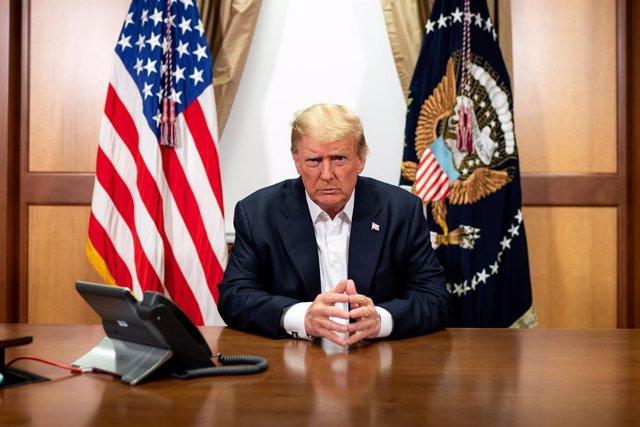 """Coronavirus.- Trump dice que el coronavirus es """"bastante menos letal"""" que la gri"""