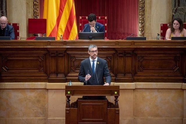 El conseller d'Acció Exterior, Relacions Institucionals i Transparència, Bernat Solé.