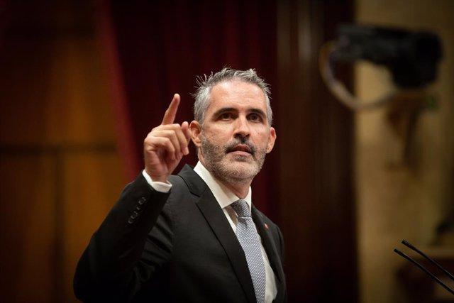 El diputat de Cs al Parlament Jorge Soler.