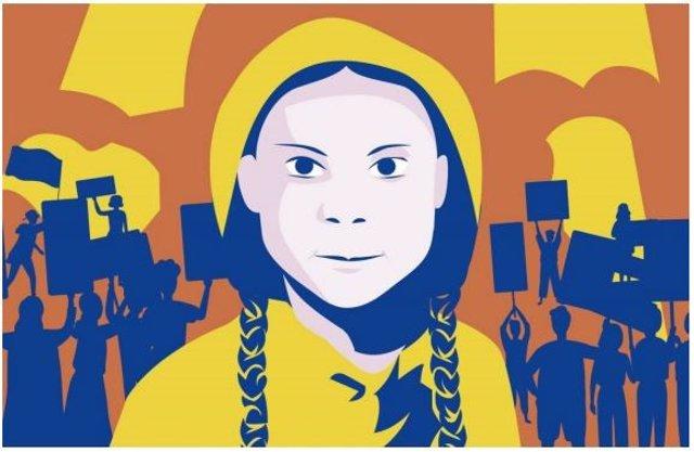 Cartel de la ópera infantil 'Greta i els Trihumans', que se estrenará en el Teatro Auditori de Granollers en 2022.