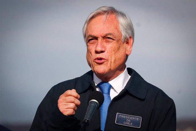 Chile.- Piñera llama a la paz a un año del inicio de la crisis política y social