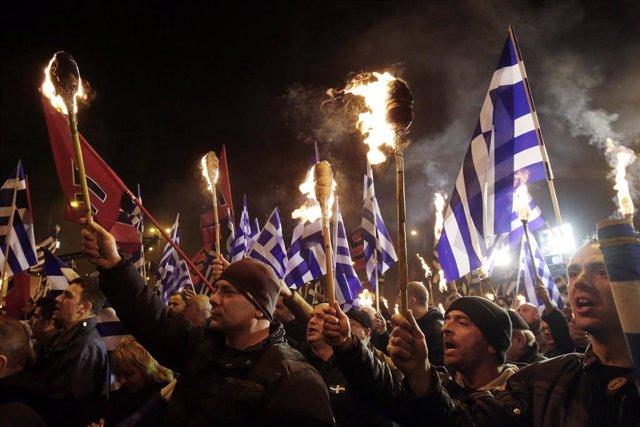Grecia.- La Justicia griega dictamina este miércoles si el partido neonazi Amane