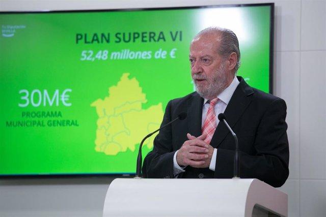 Fernando Rodríguez Villalobos, presidente de la Diputación, en una imagen de archivo