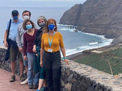 Periodistas y agentes de viajes de Irlanda, Francia, Bélgica y España visitarán La Gomera