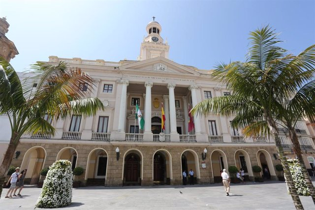 Edificio del Ayuntamiento de Cádiz