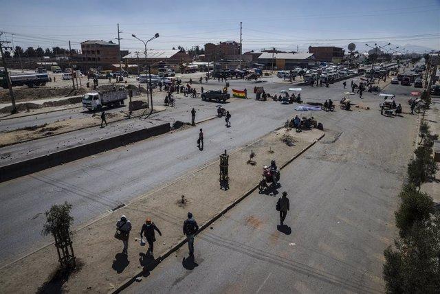 Bolivia.- La Fiscalía de Bolivia ordena detener a cinco personas por los bloqueo