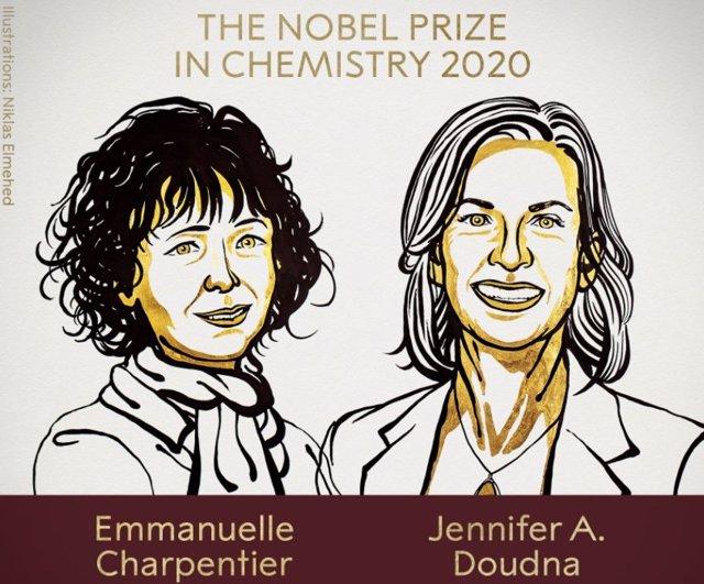 Emmanuele Charpentier y Jennifer A. Douda, ganadoras del Nobel de Química 2020