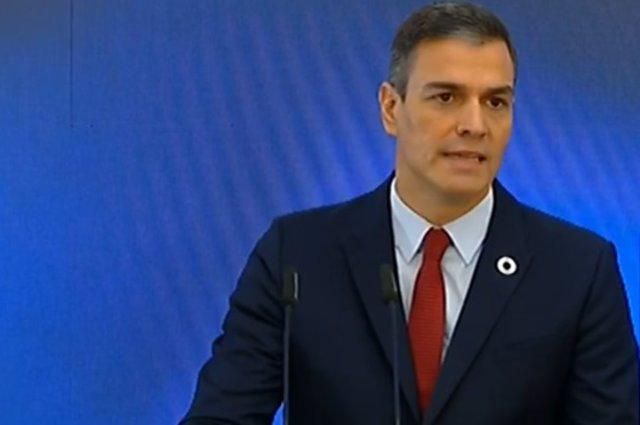 El presidente del Gobierno, Pedro Sánchez, presenta el Plan de Recuperación, Transformación y Resiliencia de la Economía Española.