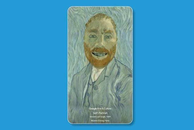 Convertirse en los autorretratos de Van Gogh o Frida Kahlo es posible con los nu
