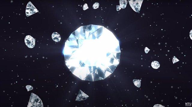 Los diamantes muestran capacidad para conducir la electricidad